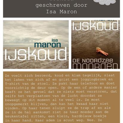 Boekquote uit 'IJskoud' geschreven door Isa Maron