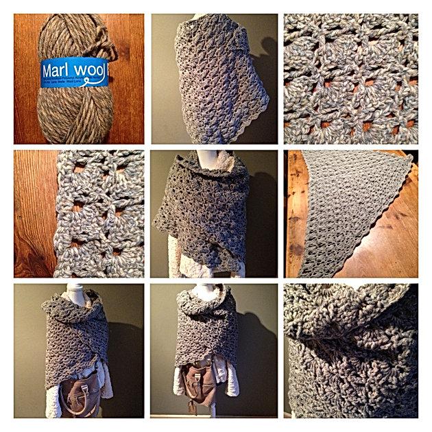 Omslagdoek Handmade By At Jufsas Creatief Zeeland Juf Sas
