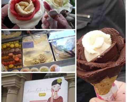 Gerlato Rosa Boedapest, een ijsje als klein kunstwerk