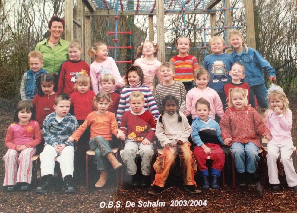 Groep 1/2 De Schalm 2003/2004