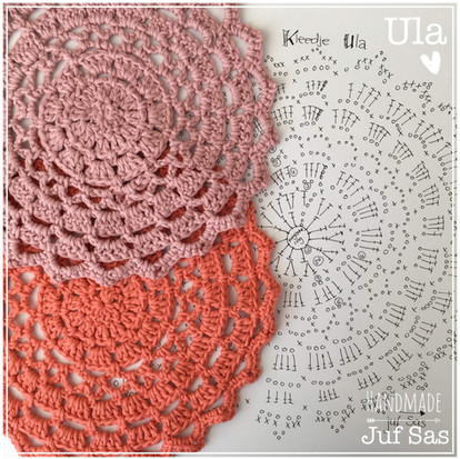 Kleedje Ula handmade by juf Sas met gratis patroon