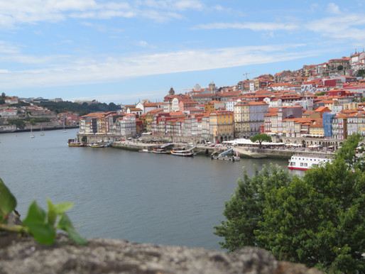 Stedentrip Porto juf Sas 12 t/m 16 september 2021