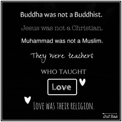 Quote van de week over geloof en liefde