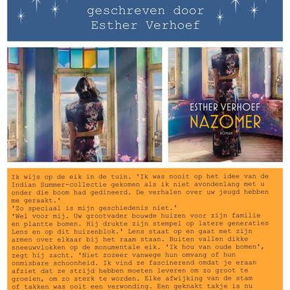 Boekquote uit 'Nazomer' geschreven door Esther Verhoef