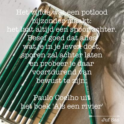 Het verhaal van het potlood