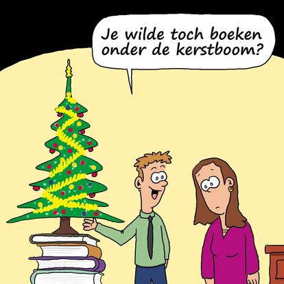 Boeken onder de kerstboom, het ultieme cadeau