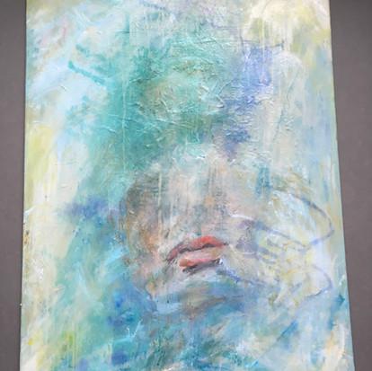Schilderij 'Someday' geschilderd door juf Sas