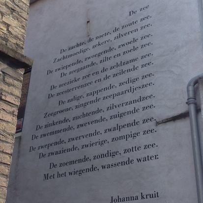 Middelburg, poëzie aan de muur
