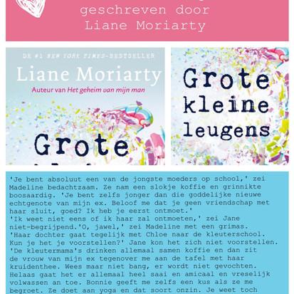 Boekquote uit 'Grote kleine leugens' geschreven door Liane Moriarty