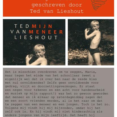 Boekquote uit 'Mijn meneer' geschreven door Ted van Lieshout
