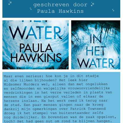 Boekquote 'In het water' geschreven door Paula Hawkins