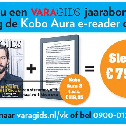 Aanbieding Varagids inclusief Kobo Aura e-reader