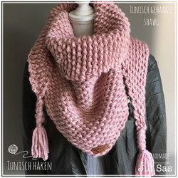 Tunisch gehaakte sjaal