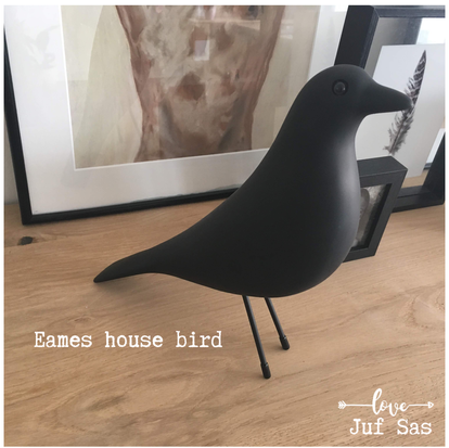 Eames House Bird, de goedkope variant