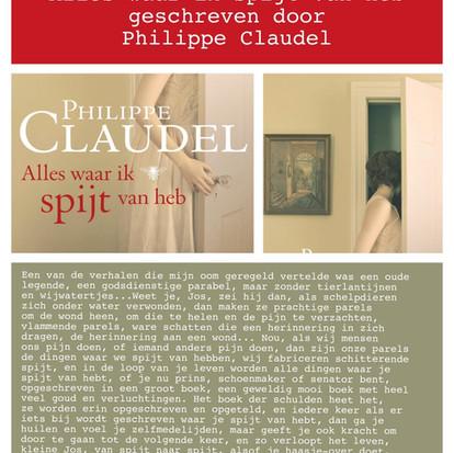 Boekquote uit 'Alles waar ik spijt van heb' geschreven door Philippe Claudel