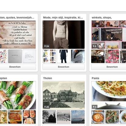 Pinterest, mijn nieuwe verslaving