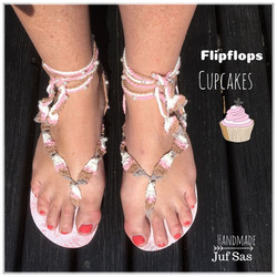 Flipflops Cupcakes