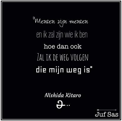 Quote van de week van Nishida Kitaro