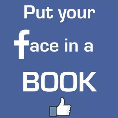 Goede tip voor dit weekend, put your face in a book