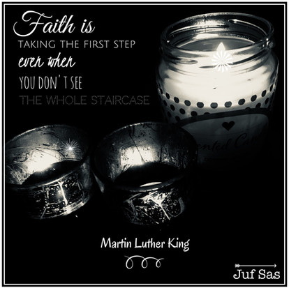 Quote van de week over Faith van Martin Luther King