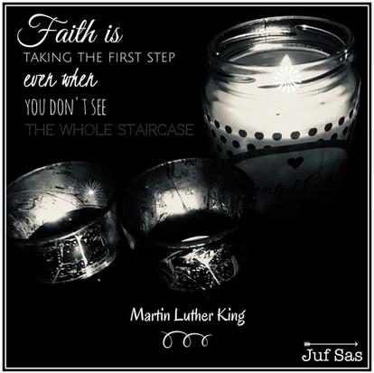 Quote van de week over Faith van Martin Luther King