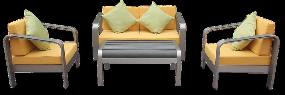 Hausin muebles muebles para exterior for Fabrica de muebles para exterior