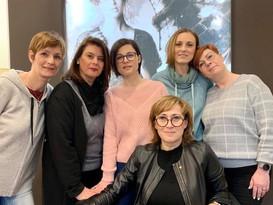 Besuch der Intercoiffure Mondial Akademie in Paris
