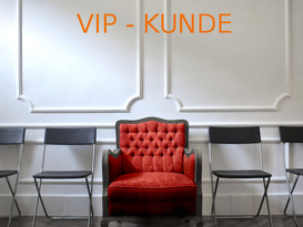 Unsere VIP CARD ist da. Werden Sie VIP- KUNDE.