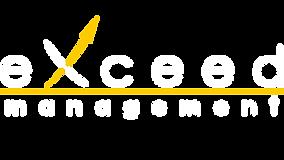 exceed management logo weiß