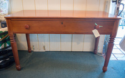 ***SOLD*** Cherry Table w/ Drawer