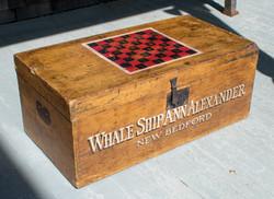 Whaling Ship Dovetail Box