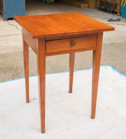 One Drawer Pine Stand