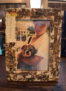 Brown Shell Frame 4x6