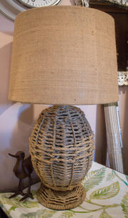 Woven Rope Lamp