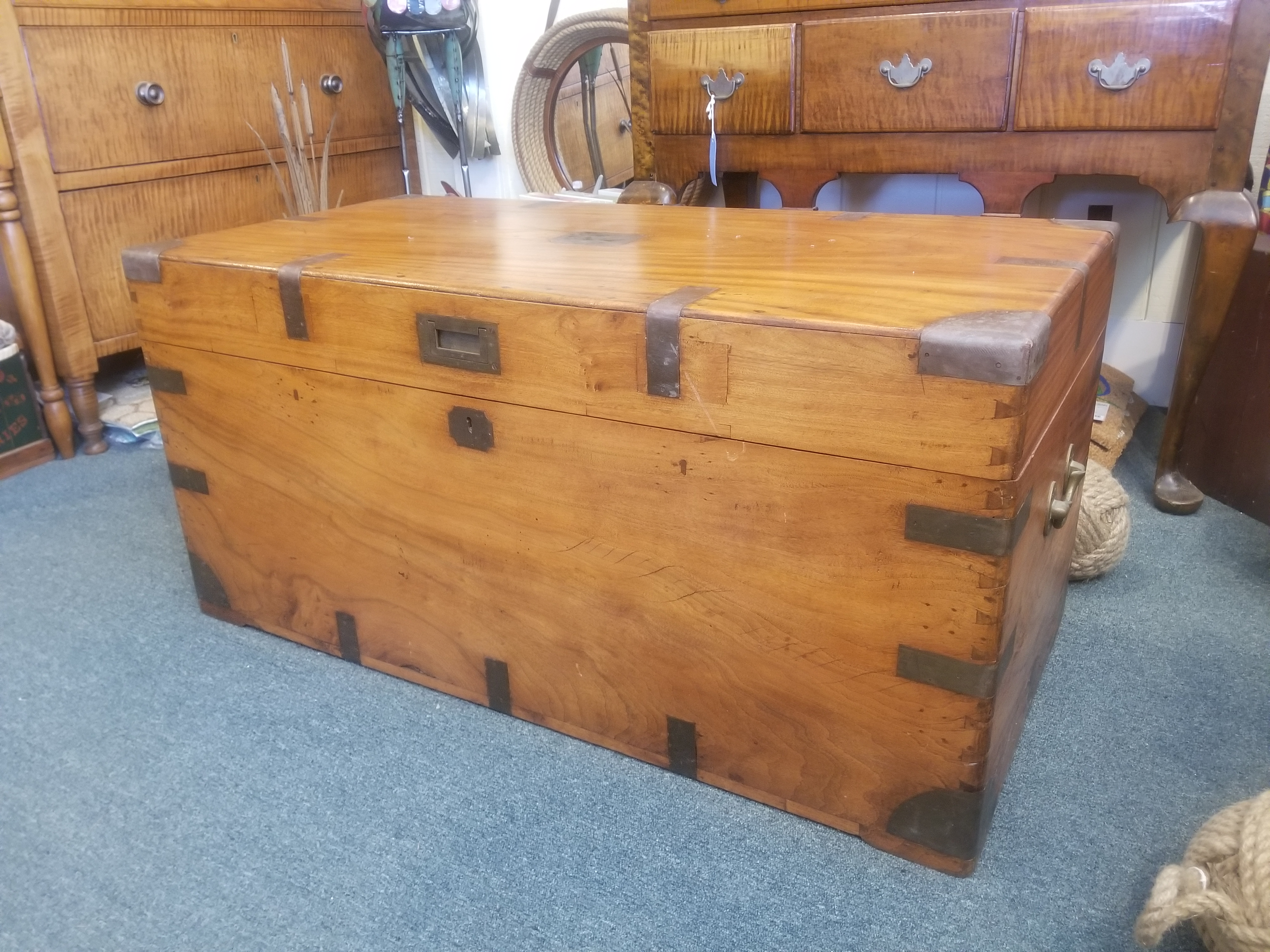 Exceptional Camphorwood Chest