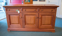 Solid Cherry Bench made Cabinet
