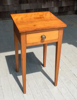 Small Cherry 1-Drawer Stand