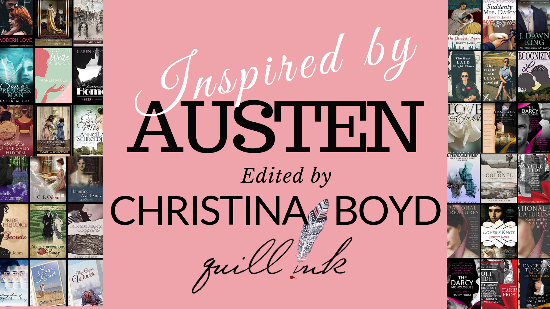 BOOKS BY THE QUILL INK | Jane Austen fanfiction | Quillink