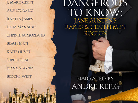Our #RakesAndGentlemenRogues Audiobook is LIVE