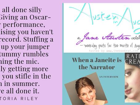 When a Janeite is the Narrator  via AUSTEN in AUGUST
