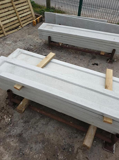 150mm Dished Concrete Gravel Board