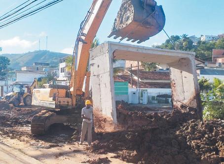 Prefeitura finaliza obra de galeria que promete minimizar enchentes entre o Centro e a Residência