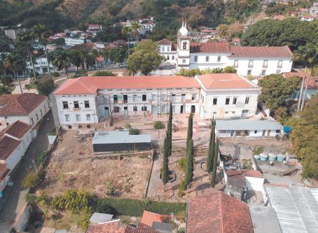 Ronaldo Cezar Coelho anuncia retomada das obras do antigo Asilo Barão do Amparo