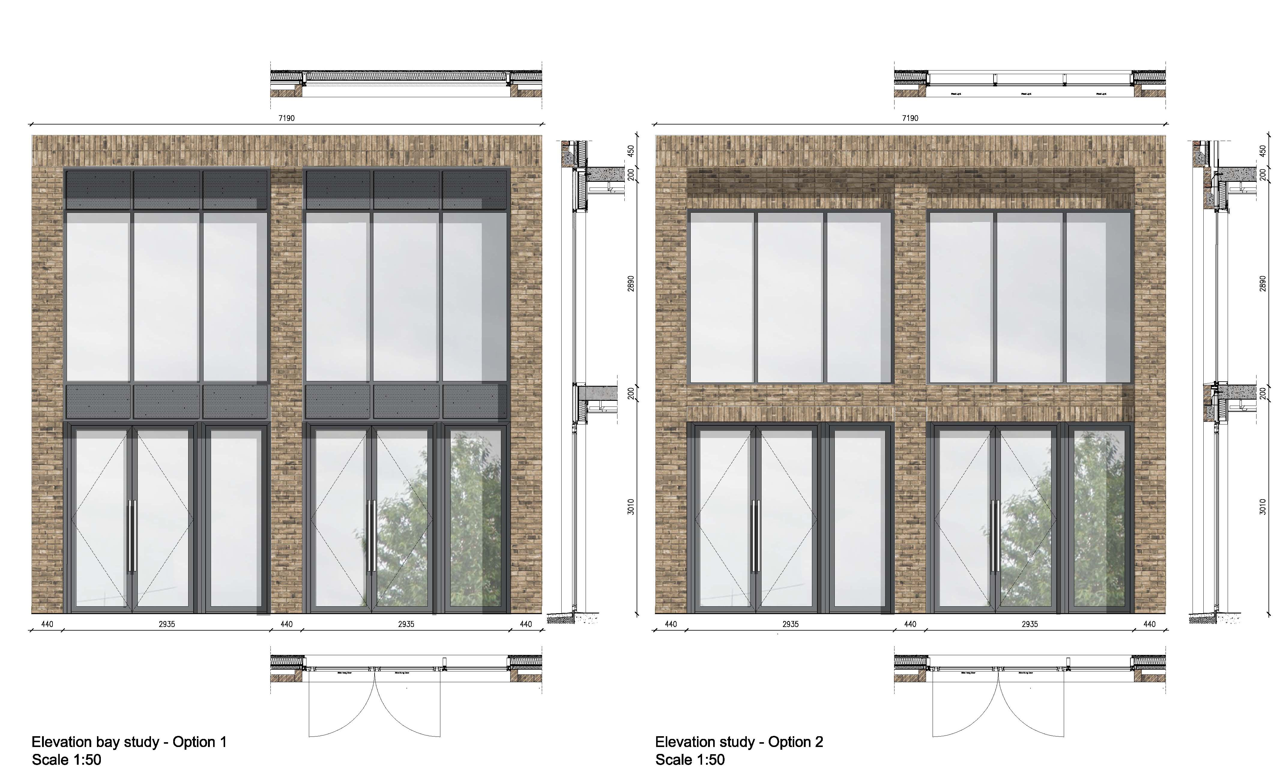 Bromley Office Elevation Study