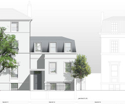 113 Park Hill roof extension
