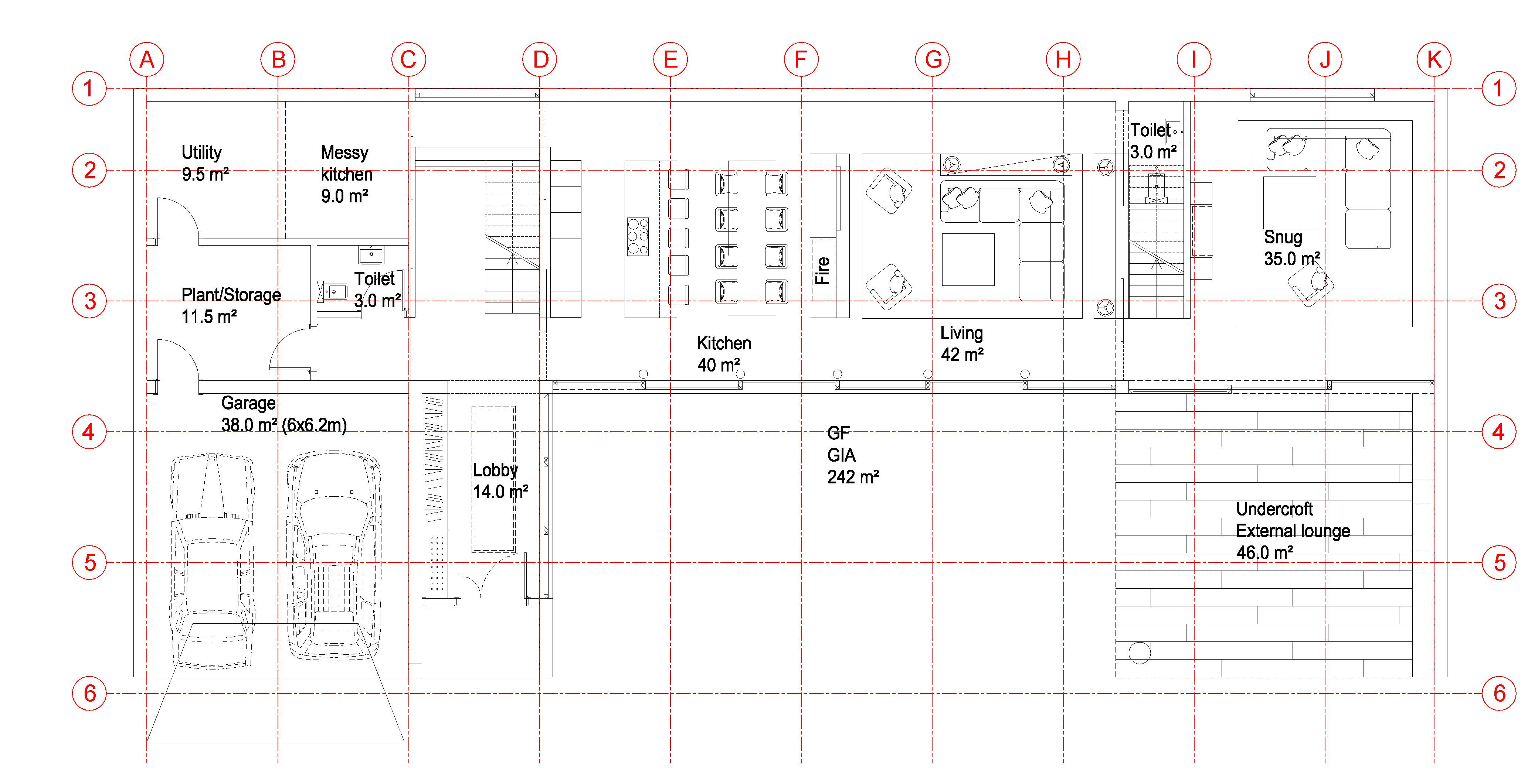 Chislehurst house concept