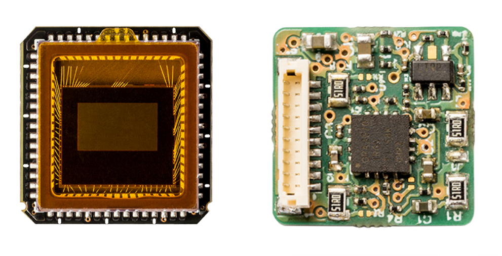 Industrial 14mm x 14mm Full-HD AHD camera & 14mm x 14mm AHD amplifier/transmitter