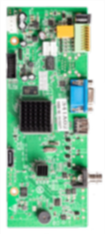 Industrial AHD DVR with overlays