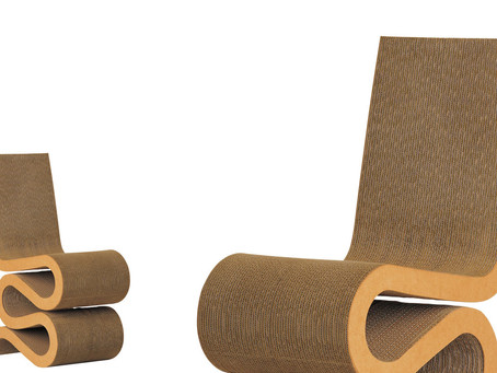 Wiggle Side Chair Frank Gehry, 1972