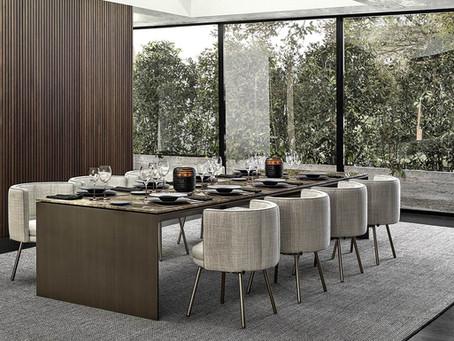 Minotti Linha Dinning Tables by MARCIO KOGAN
